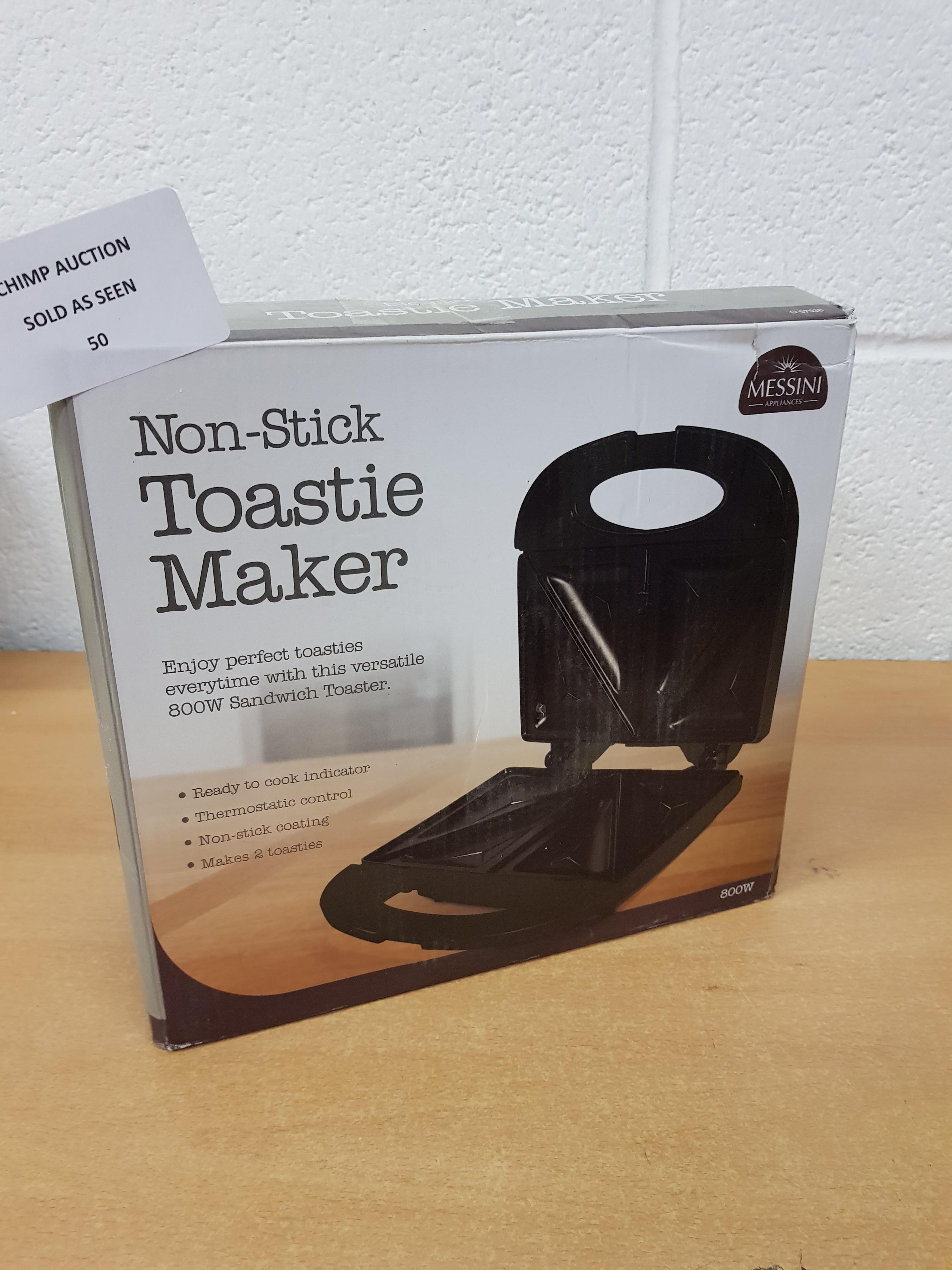 Lot 50 - Messini Non-Stick Toastie Maker