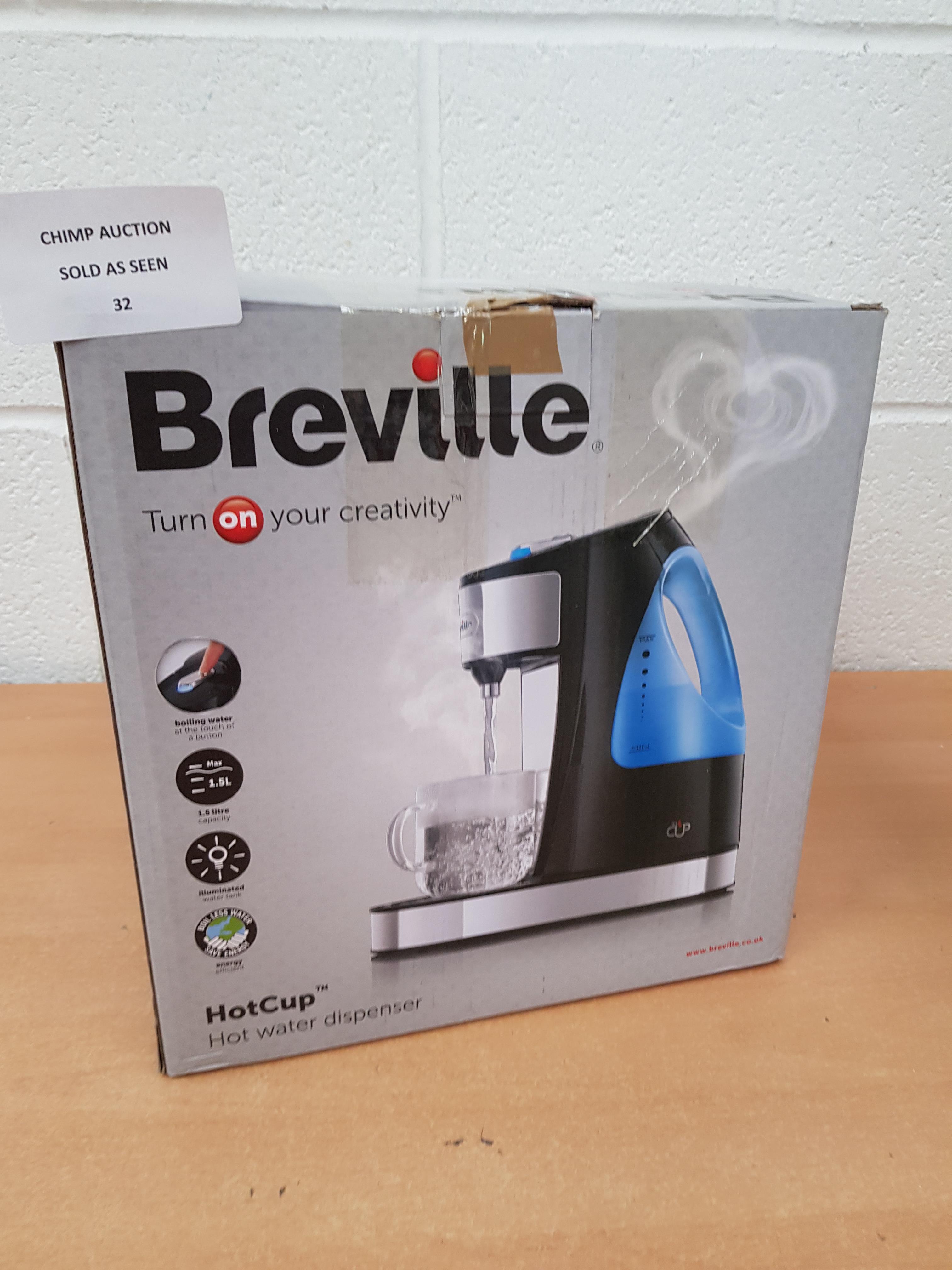 Lot 32 - Breville HotCup hot water Dispenser