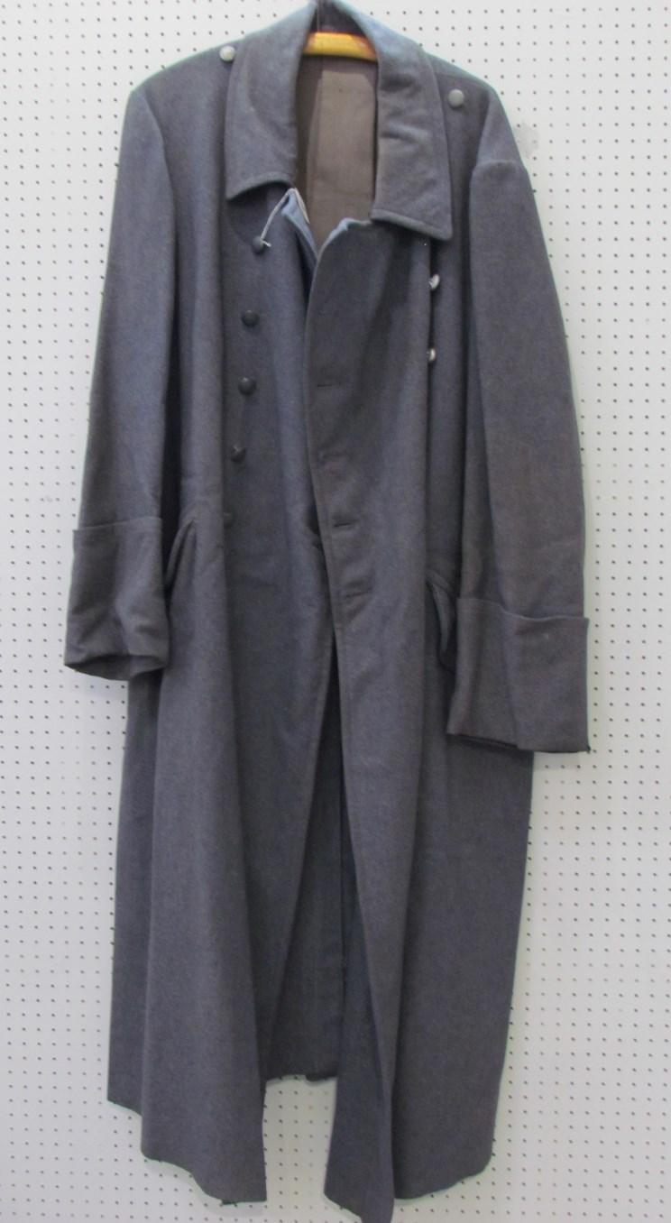 Lot 8047 - A Third Reich era German Luftwaffe officer's great coat by W. Blicker & Co.