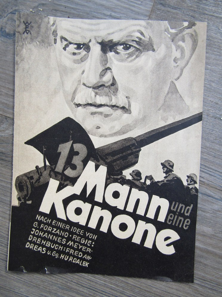 Lot 8052 - A quantity of Third Reich era German Nazi programmes consisting of 13 Mann und eine Kanone (1938),