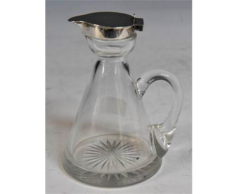 An Edwardian silver topped whiskey noggin, Hukin & Heath, Birmingham, 1907CONDITION:marks good, overall condition good