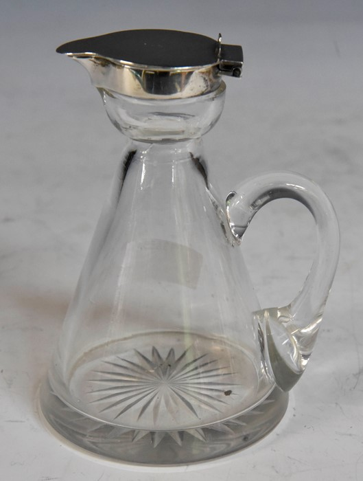 An Edwardian silver topped whiskey noggin, Hukin & Heath, Birmingham, 1907CONDITION:marks good,