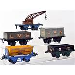 Hornby Series 0 gauge boxed rolling stock