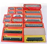 Tri-ang Hornby and Hornby Railways 00 gauge boxed locomotives and coaches