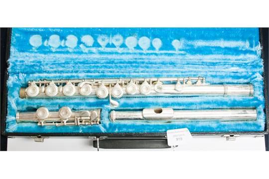 A Lafleur Flute, serial number 81867