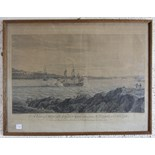 After Coplestone Warre Bampfylde (1720-1791) 'A view of Mount Edgcumbe taken from St Nicholas's