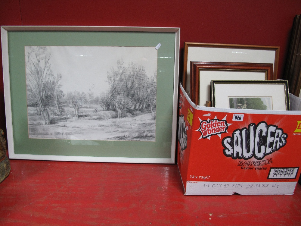 Lot 528 - A Quantity of Framed Pictures and Prints.