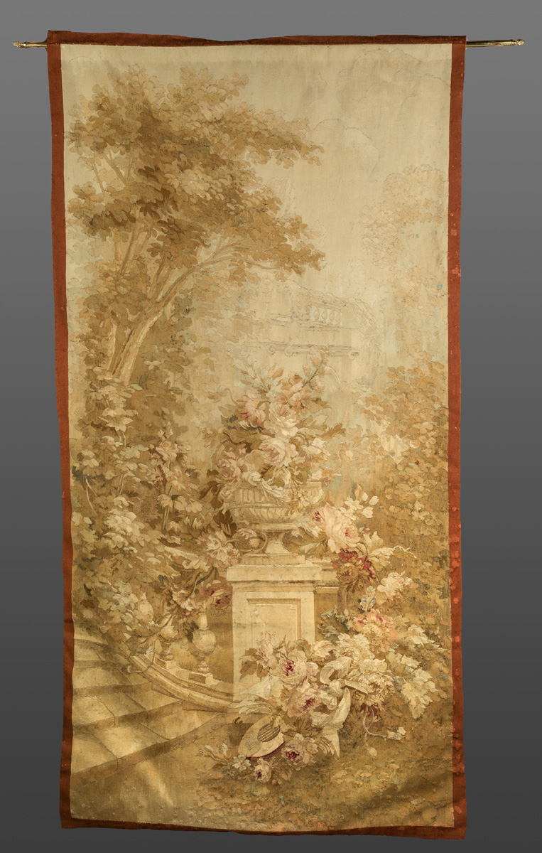 Pair Of French Aubusson Tapestries 19th Century Very