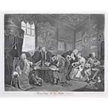 Kunst.- Hogarth, W.The works of William Hogarth from the original plates restored by James Heath.