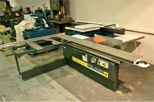 Pre-owned Felder K6 panelsaw, 315mm blade, independant scoring saw