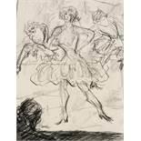 Expressionismus - - Stemmler, Hermann. (1891 Hirschberg (Saale) - 1918 Reims). Revue. 1912.