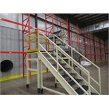 PORTABLE SIFTER MEZZANINE AND PORTABLE STAIRCASE, USED WITH KASON SIFT | RIGGING/LOADING FEE: $50