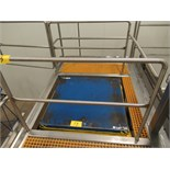 BLUE GIANT DS4/48X48-12S1, 4,000# HYD. DOUBLE SCISSOR LIFT TABLE W/1 H | RIGGING/LOADING FEE: $150