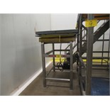 PENTALIFT MOD# 2710254, 2,500# HYDRAULIC VERTICAL LIFT TABLE W/STAINLE | RIGGING/LOADING FEE: $100