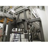 100 CUBIC FT. APPROX. STAINLESS STEEL RIBBON BLENDER, INNER AND OUTER | RIGGING/LOADING FEE: $1000
