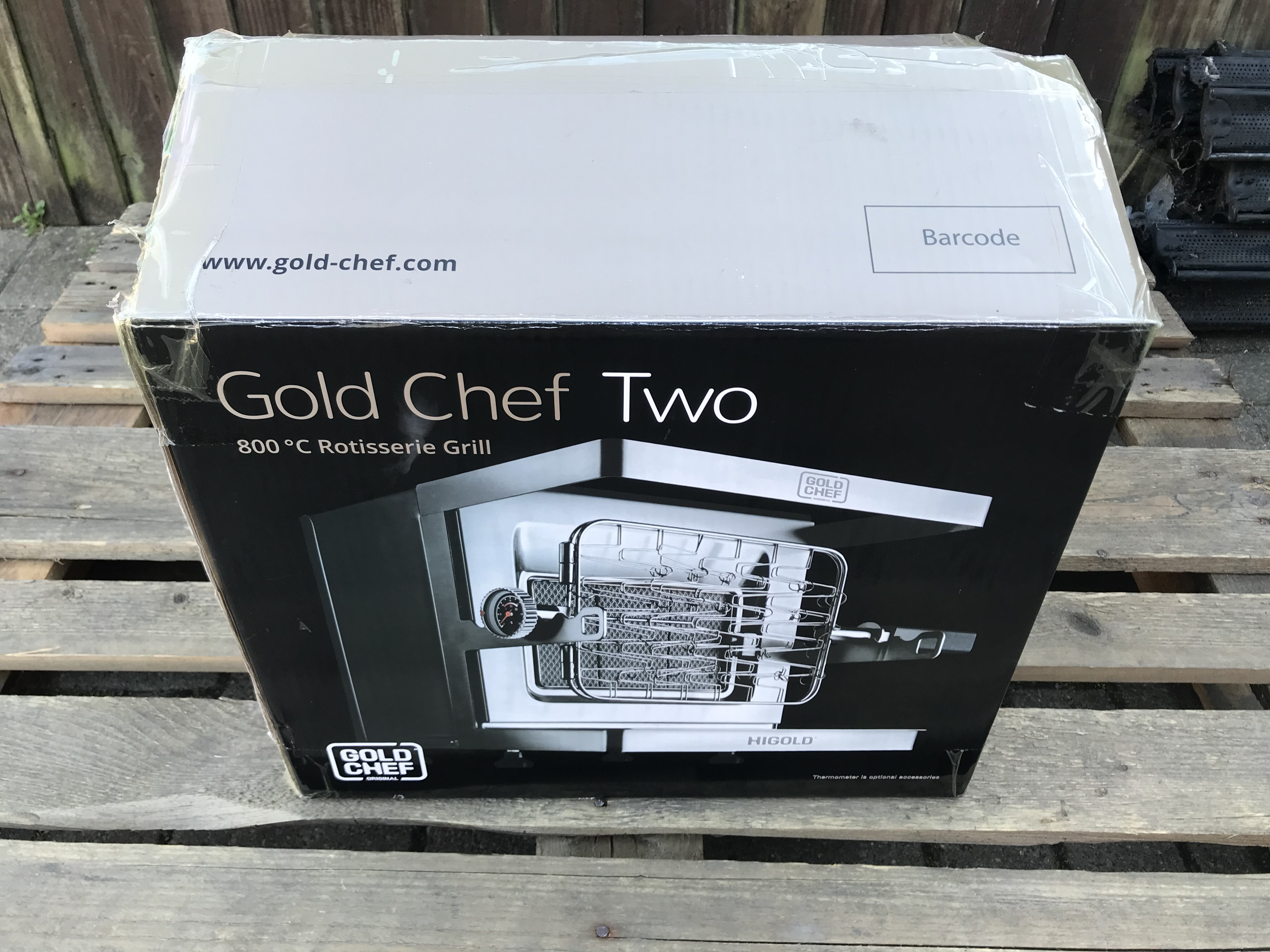 GOLD CHEF TWO 800C ROTISSERIE GRILL - Image 2 of 6