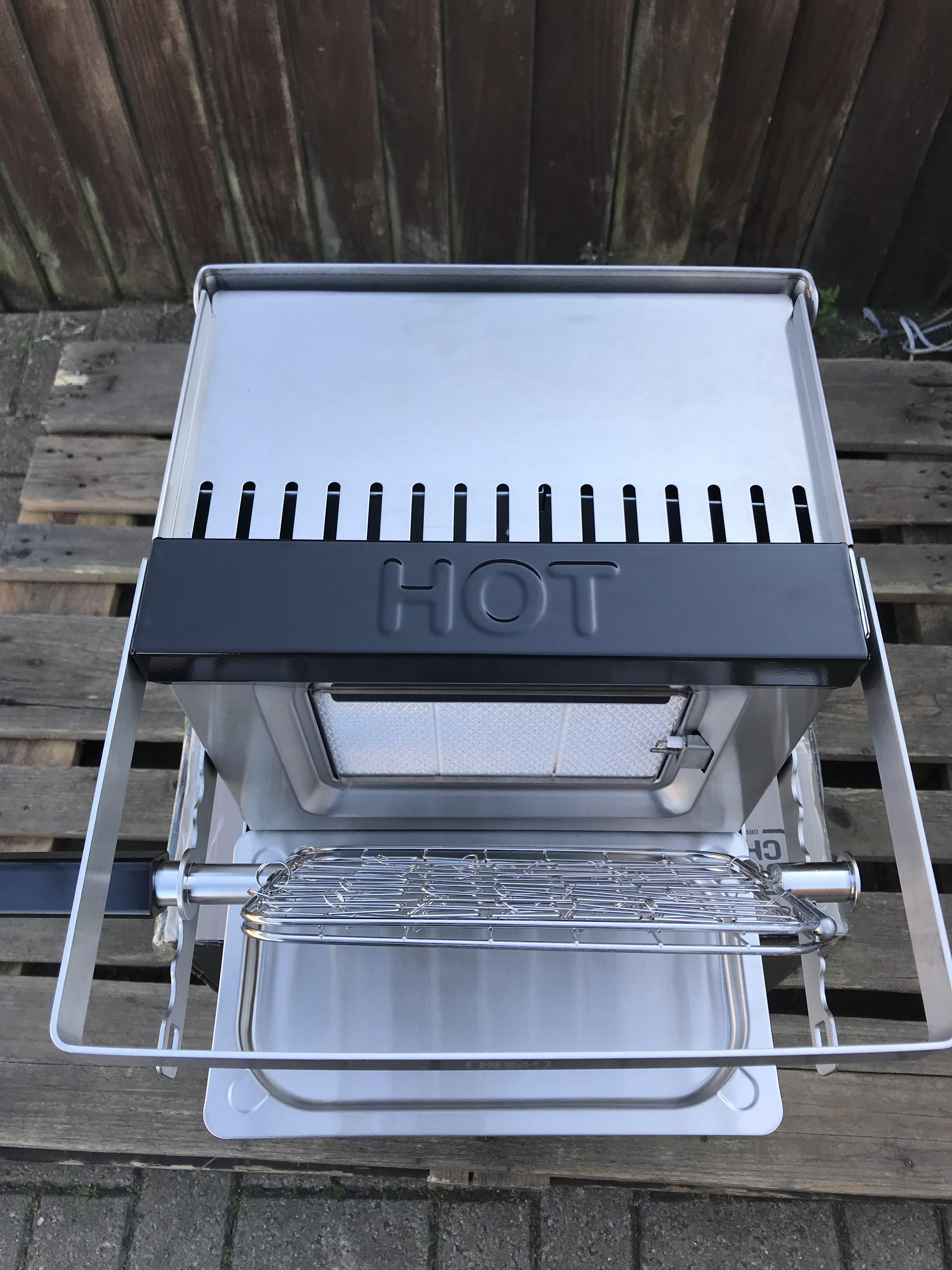 GOLD CHEF TWO 800C ROTISSERIE GRILL - Image 6 of 6