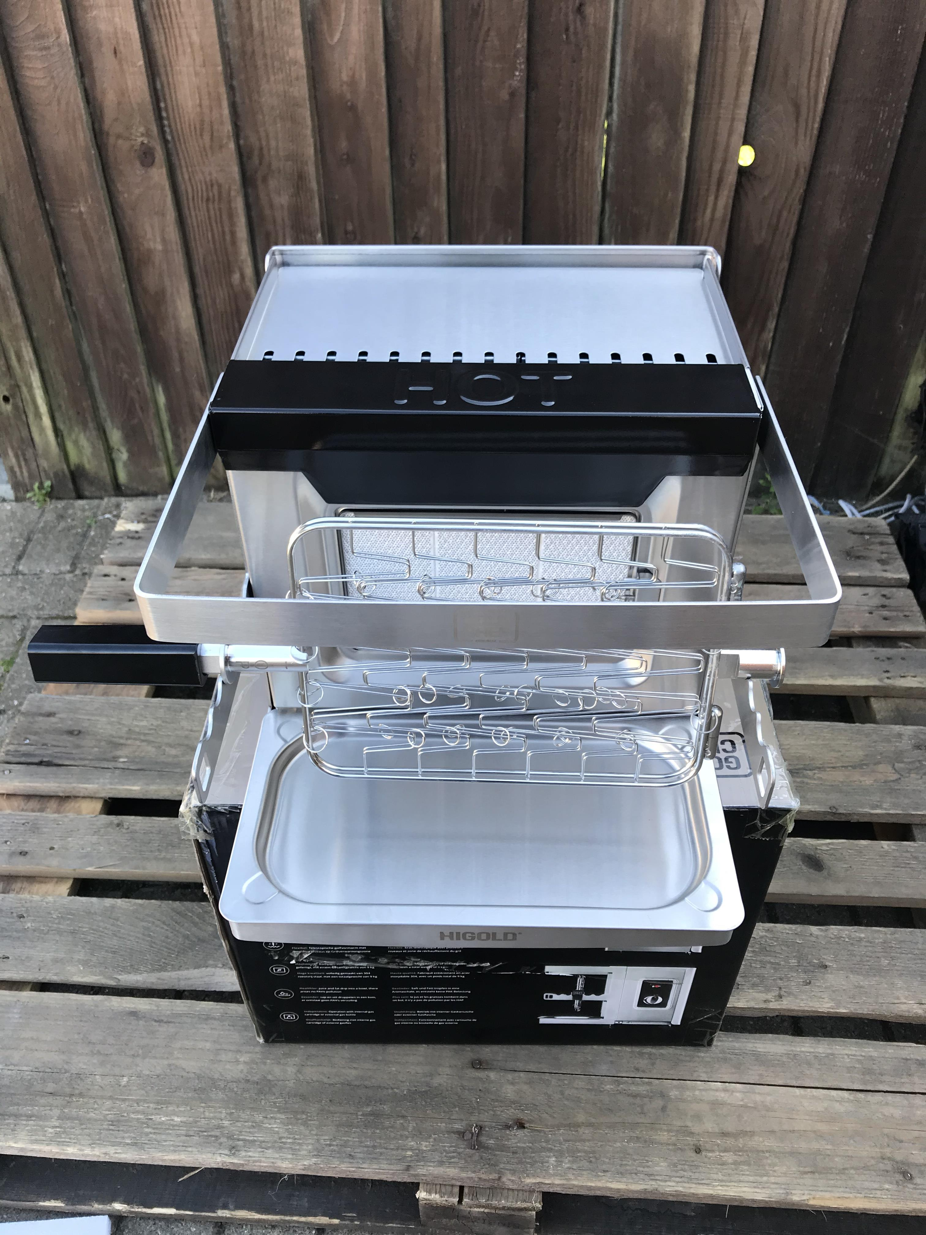 GOLD CHEF TWO 800C ROTISSERIE GRILL - Image 5 of 6
