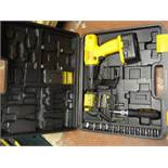 Workpro Cordless Drill and Socket Set