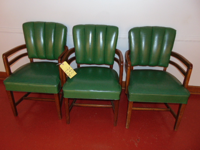 Lot 535 - LOT OF CHAIRS (3)