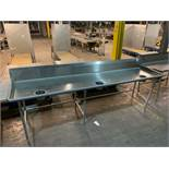 Stainless Steel Prep Table 12'
