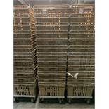 Food transport baskets, tall, with dolly (QTY: 15)
