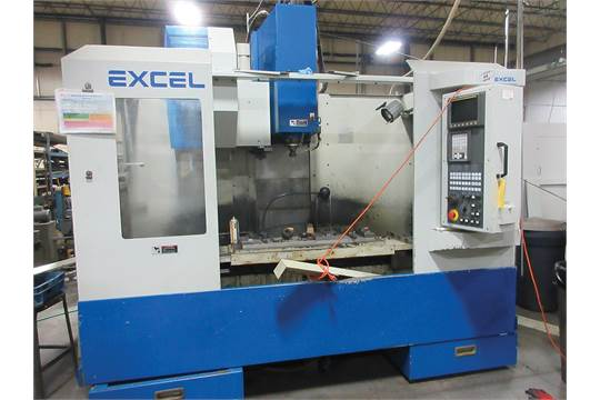 Choice of lots: 259, 260 } } } } } 1999 EXCEL PMC-10T24 CNC