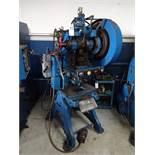 Walsh No. 24 OBI Punch Press, S/N 10558, Air Clutch