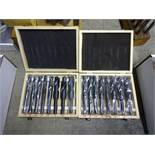 LOT: (2) Drill Sets - 9/16 in. to 1 in.