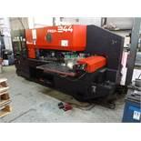 Amada 20 Ton Model Pega 244 (Pega 20 40 40) CNC Turret Punch, S/N 02440907 (1990), Amada 04PC