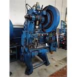 Walsh No. 55 OBI Punch Press, S/N N/A, Air Clutch