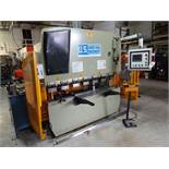 U.S. Industrial Machinery 78-3/4 in. Model US446 CNC Hydraulic Press, S/N W1302-032, 4-Way Die