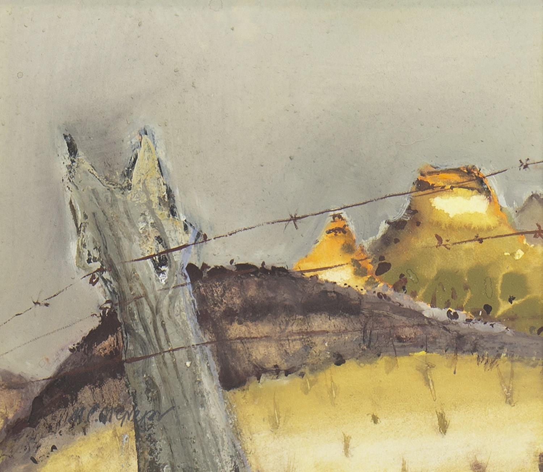 MOOLOOLOO HOMESTEAD, SA, A GOUACHE BY MHAIRI MCGREGOR - Image 2 of 2