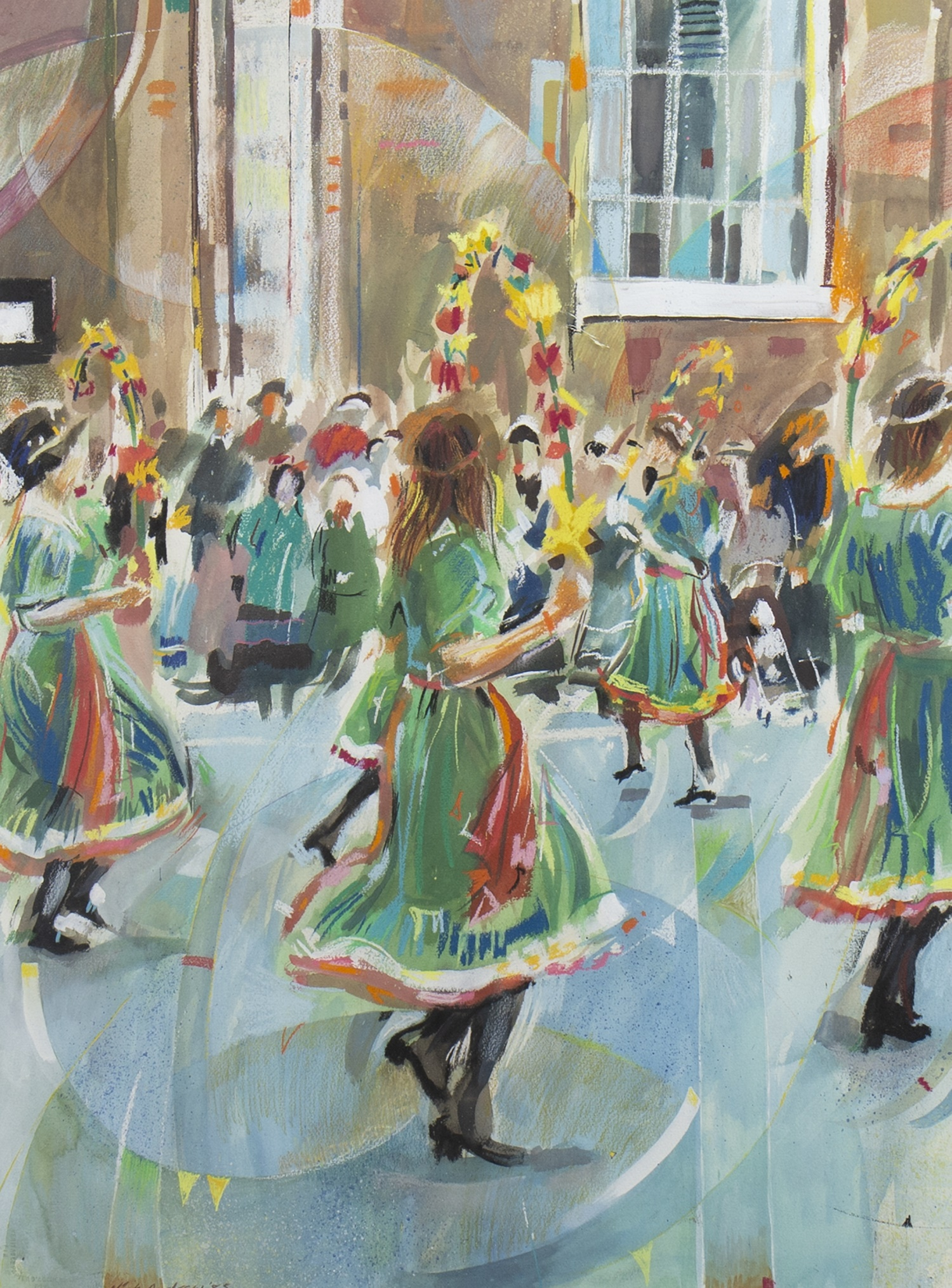 STREET DANCERS, A MIXED MEDIA BY NICK ANDREWS - Image 2 of 2