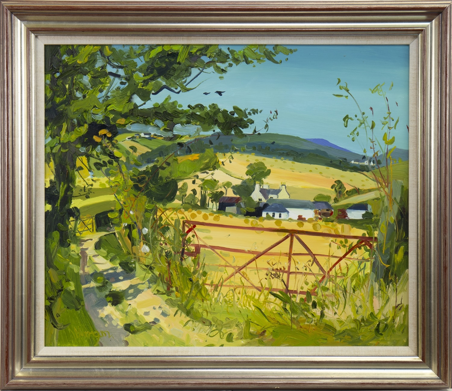 PATH TO HAWKHILL, GIRVAN, AN OIL BY JAMES HARRIGAN