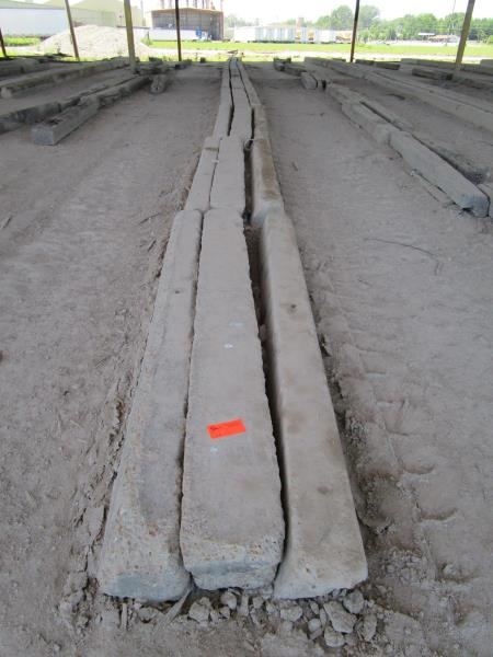 Lot 13 - Approximately 30 Concrete Curbs