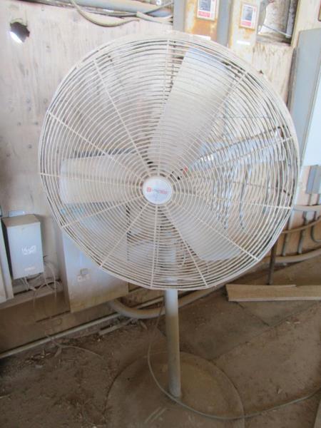 Lot 50 - Pedestal floor fan