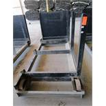 Steel Lumber cart with right hand arm