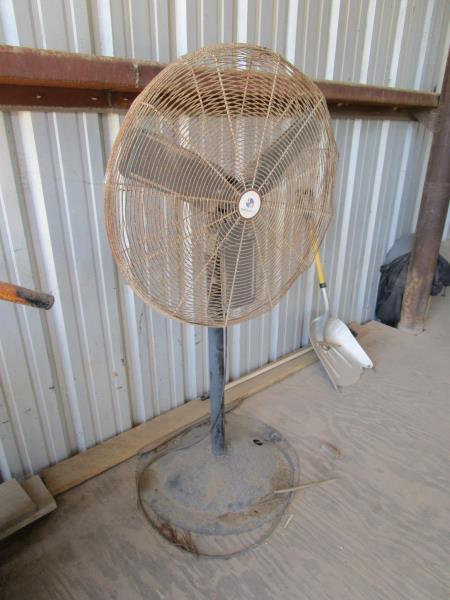 Lot 18 - Pedestal Fan by Prostandard