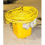 240v to 110v transformer c/w 110v extension cable HS