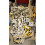 Quantity of 110v cabling ** No VAT to be charged on the hammer price but VAT will be charged on