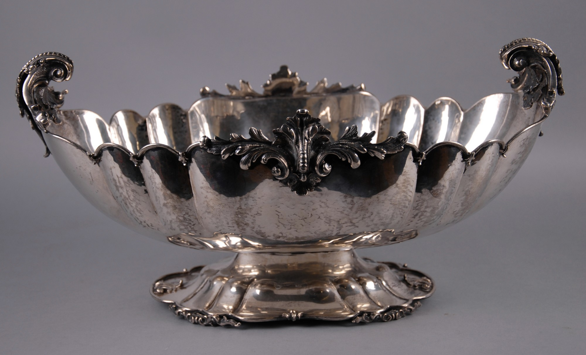Centrotavola in argento 800 finemente lavorato gr 2000 - Centrotavola argento moderno ...