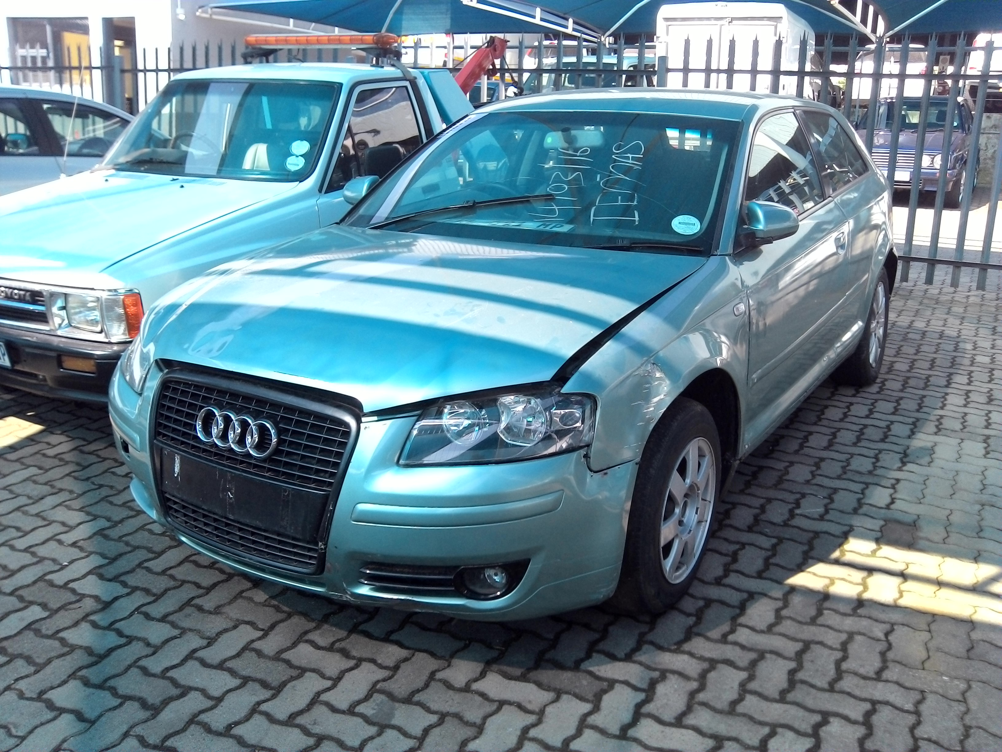 2003 audi a3 2 0 tdi ambition problem starter km 277386 colour grey market r605. Black Bedroom Furniture Sets. Home Design Ideas