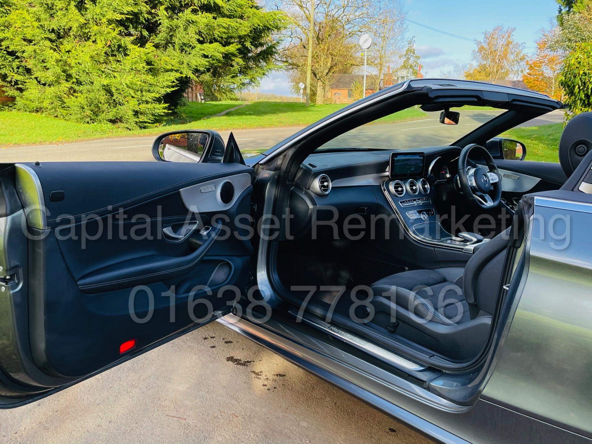 (On Sale) MERCEDES-BENZ C220D *AMG LINE -CABRIOLET* (2019) '9G AUTO - LEATHER - SAT NAV' *HUGE SPEC* - Image 18 of 43