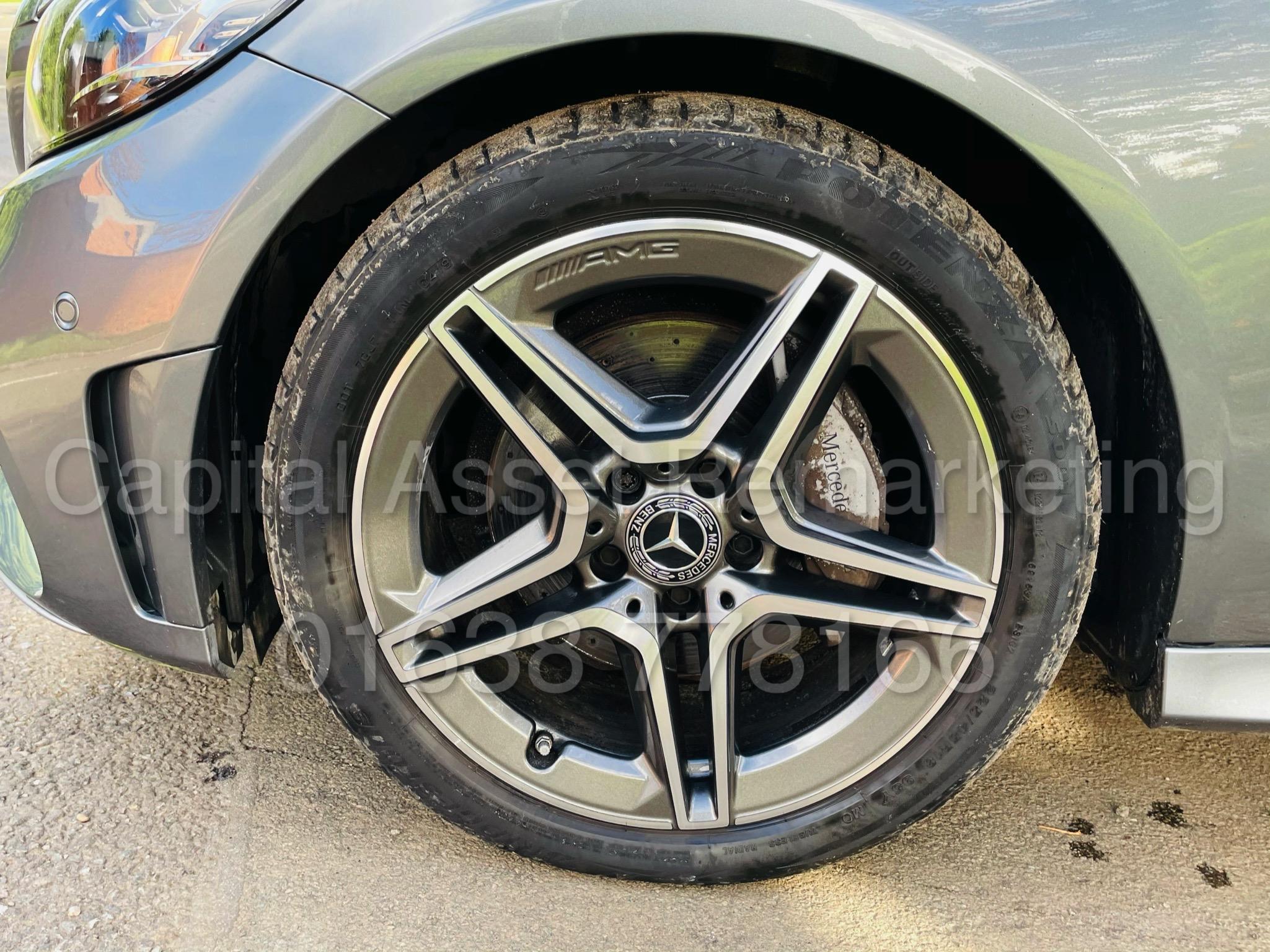 (On Sale) MERCEDES-BENZ C220D *AMG LINE -CABRIOLET* (2019) '9G AUTO - LEATHER - SAT NAV' *HUGE SPEC* - Image 16 of 43