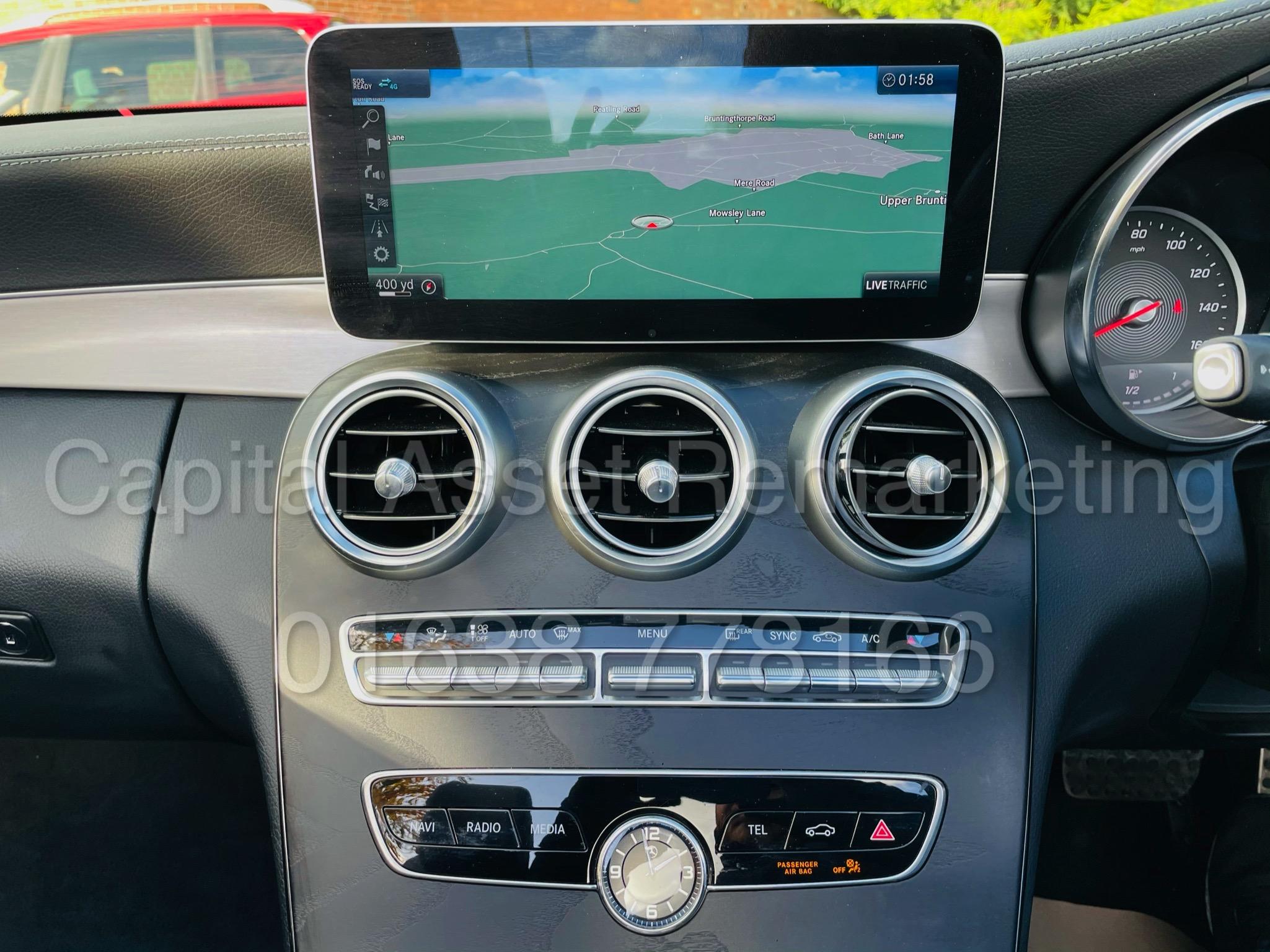 (On Sale) MERCEDES-BENZ C220D *AMG LINE -CABRIOLET* (2019) '9G AUTO - LEATHER - SAT NAV' *HUGE SPEC* - Image 37 of 43