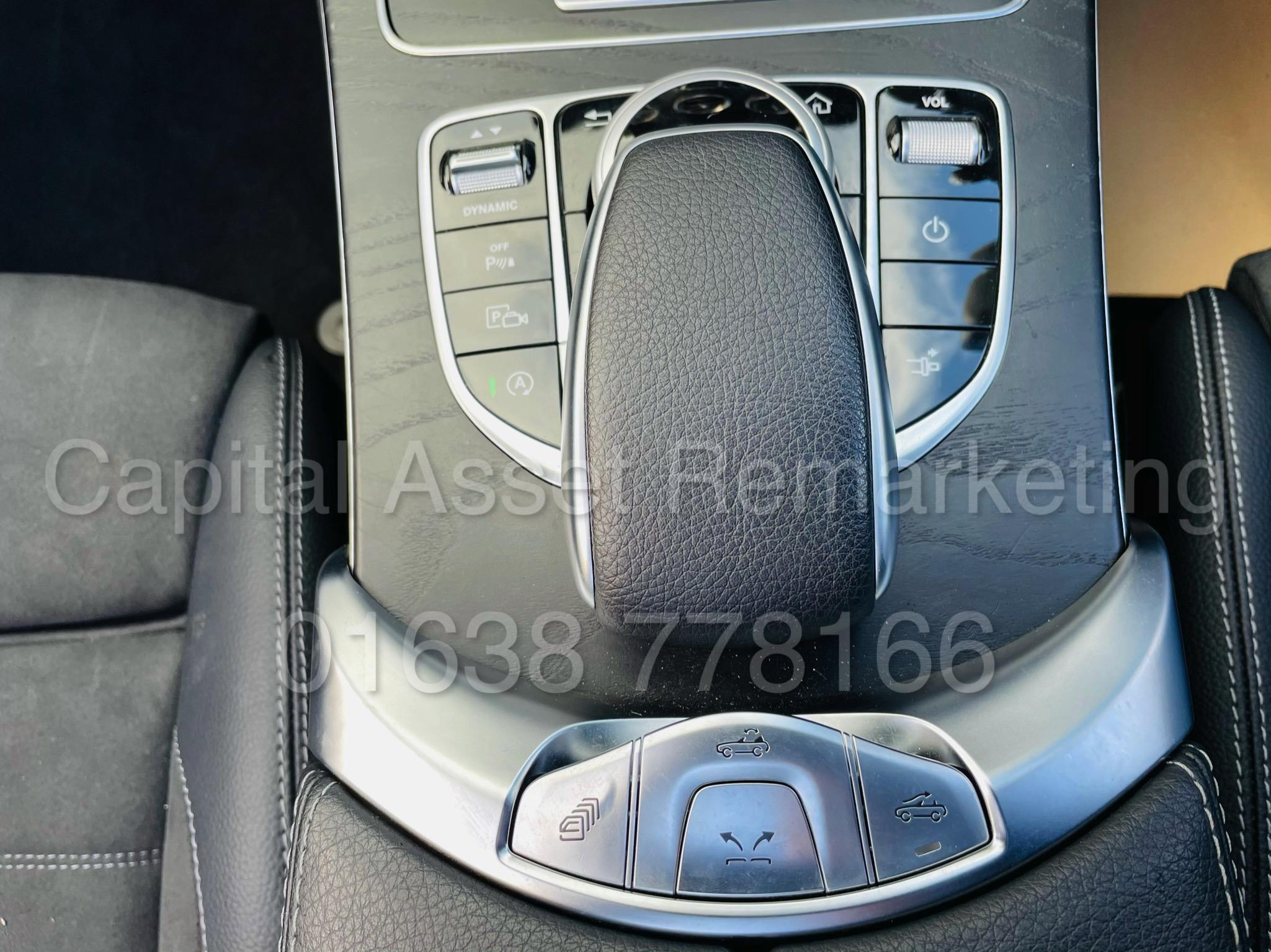 (On Sale) MERCEDES-BENZ C220D *AMG LINE -CABRIOLET* (2019) '9G AUTO - LEATHER - SAT NAV' *HUGE SPEC* - Image 40 of 43