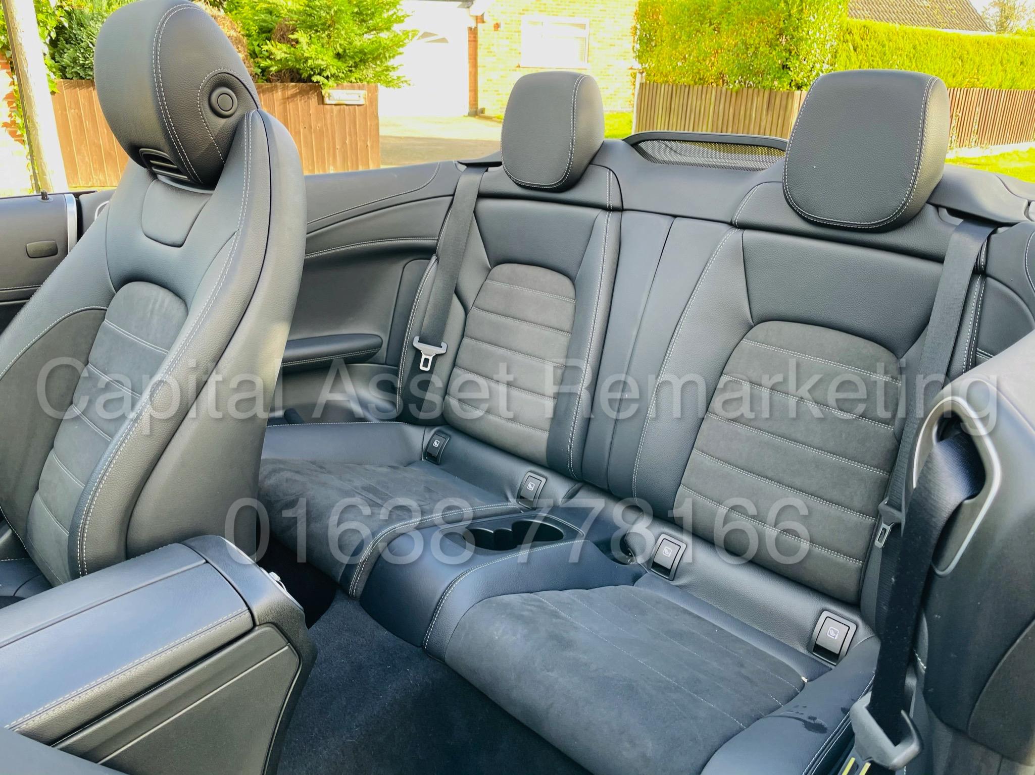 (On Sale) MERCEDES-BENZ C220D *AMG LINE -CABRIOLET* (2019) '9G AUTO - LEATHER - SAT NAV' *HUGE SPEC* - Image 24 of 43