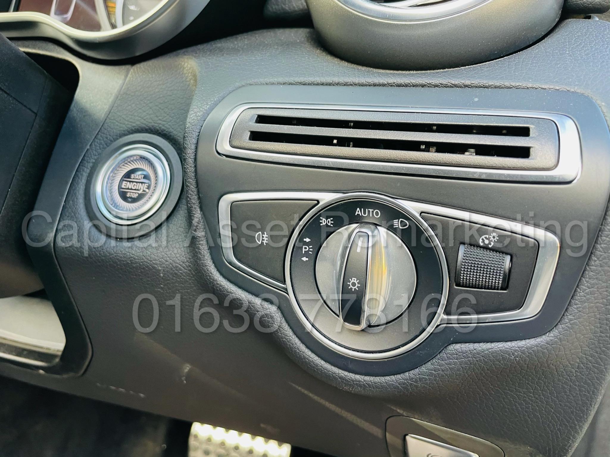 (On Sale) MERCEDES-BENZ C220D *AMG LINE -CABRIOLET* (2019) '9G AUTO - LEATHER - SAT NAV' *HUGE SPEC* - Image 33 of 43