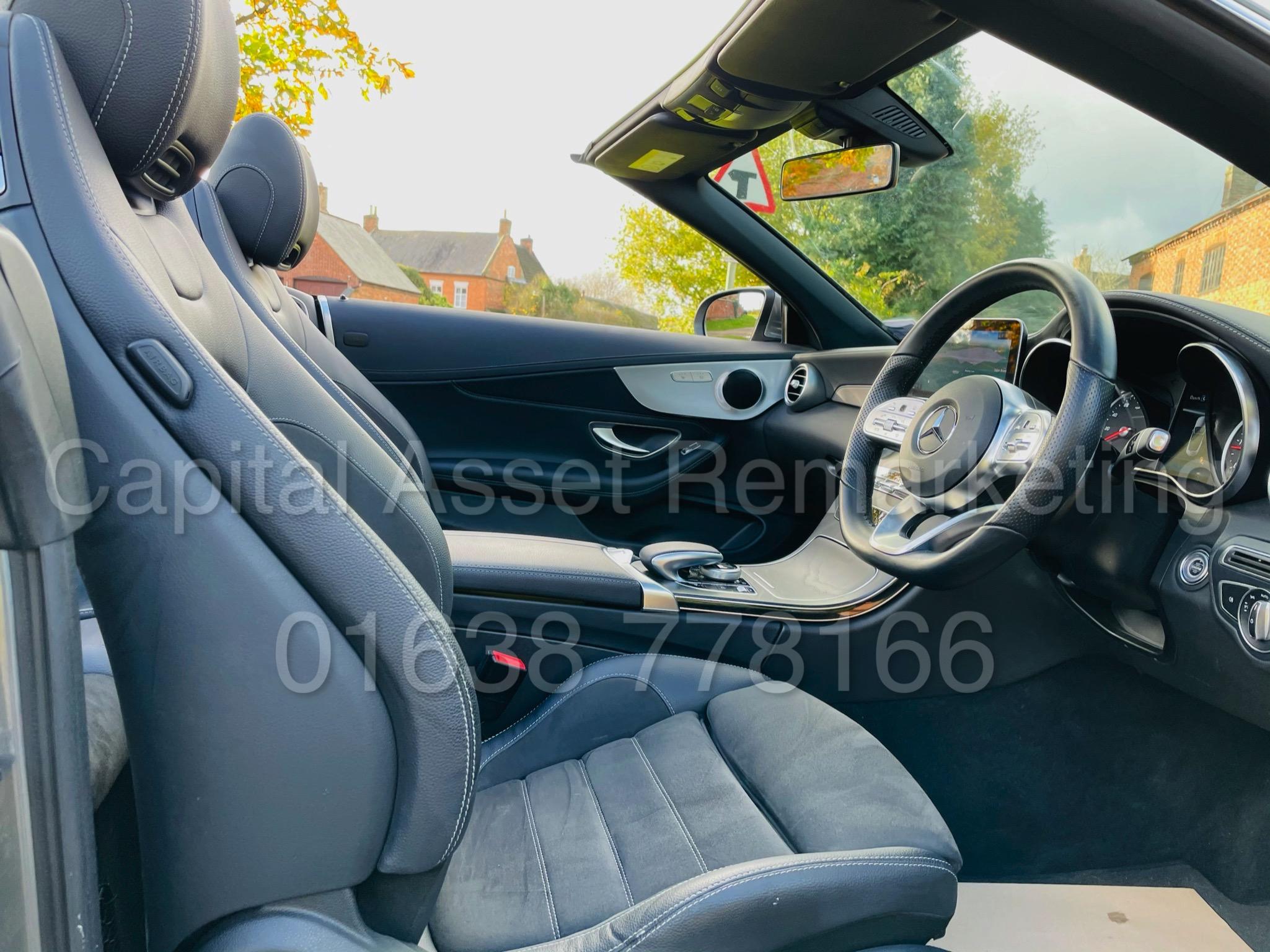 (On Sale) MERCEDES-BENZ C220D *AMG LINE -CABRIOLET* (2019) '9G AUTO - LEATHER - SAT NAV' *HUGE SPEC* - Image 31 of 43